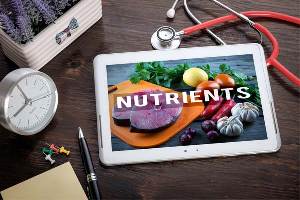 Nutrients you are getting