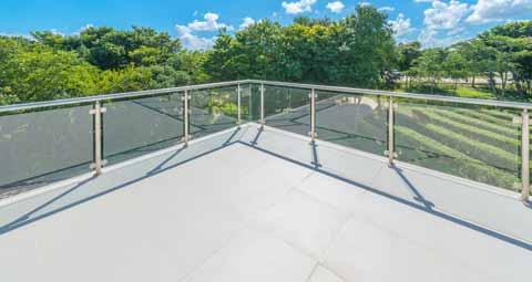Build a Glass Railing for a Deck