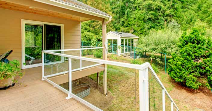 How to Build A Glass Railing for a Deck