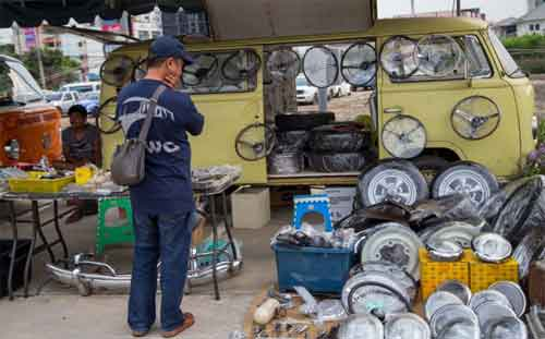 Tips to sell old car parts